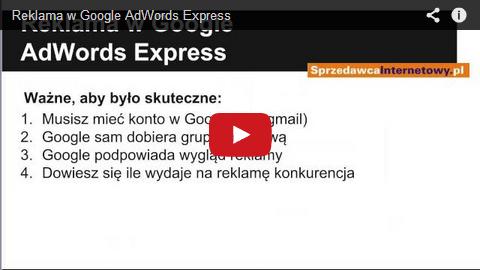 Szybka i prosta reklama Google AdWords Express